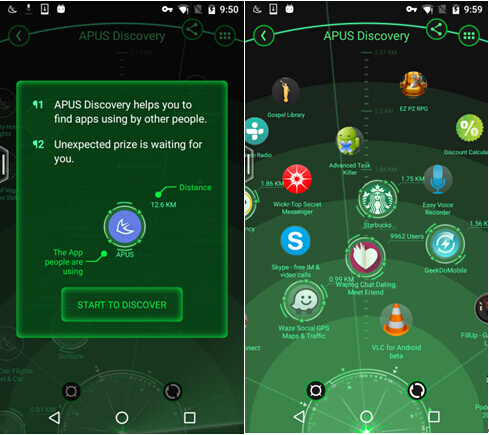 APUS Discovery Screenshot