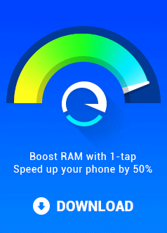 Boost RAM with 1-tip Speed up your phone by 50%